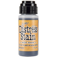 Distress stain wild honey