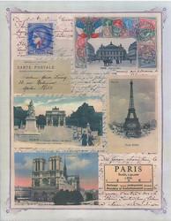Penny Black tarrat Paris