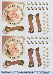 BD 3d-kuvat hää-aihe sormukset ja kädet