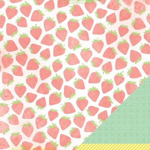 American Crafts paperi Neapolitan Pretty Please 12x12