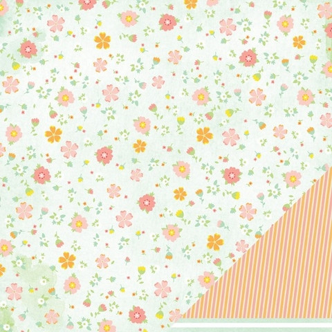 American Crafts paperi Neapolitan Sweet sundress 12x12