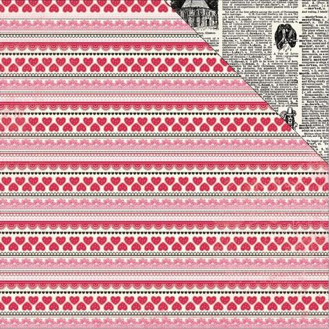 Authentique paperi Adore Story 12x12