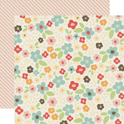 Echo Park paperi Sweet Day Fancy Floral 12x12