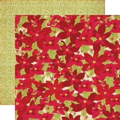 Echo Park paperi SG Poinsettias 12x12