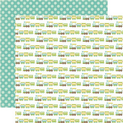 Echo Park paperi  Bundle of Joy Choo choo train 12x12