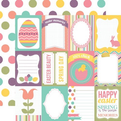 Echo Park paperi Happy Easter - Journaling 12x12