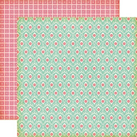 Echo Park paperi Sweet Girl Lace Damask 12x12
