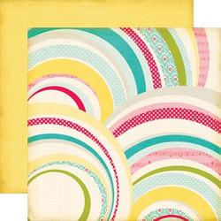 Echo Park paperi Sweet Girl Rainbows 12x12
