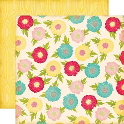 Echo Park paperi Sweet Girl Flower Garden 12x12