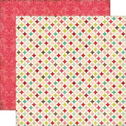 Echo Park paperi This & That Graceful Quilt 12x12