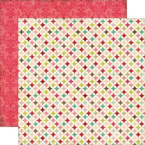 Echo Park paperi This & That Graceful Quilt 12x12