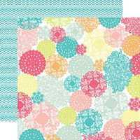 Echo Park paperi Everyday Eclectic Doily Multi 12x12