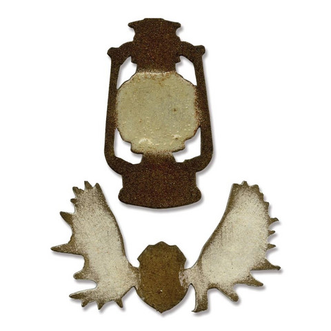 Sizzix movers & shapers stanssit mini lantern & antlers