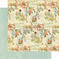 Graphic45 paperi Secret Garden Posy Patch
