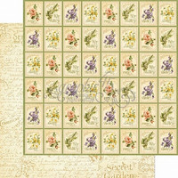 Graphic45 paperi Secret Garden Seed Fairy