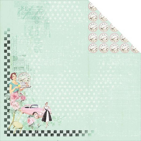 FabScraps paperi Milkshake Chic Cream Soda 12x12