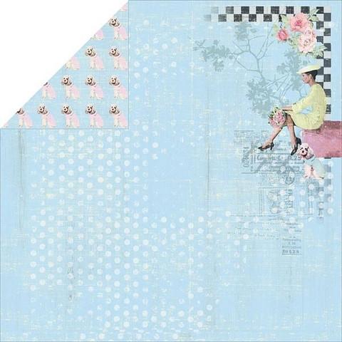 FabScraps paperi Milkshake Chic Bubblegum 12x12