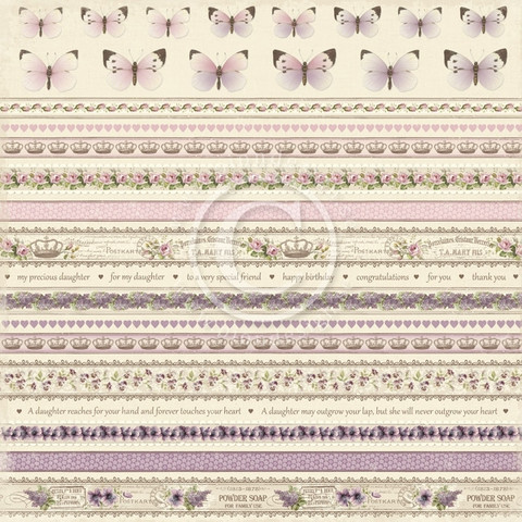 Pion Design paperi My Precious Daughter Borders 12x12