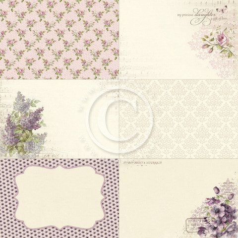 Pion Design paperi Memory Notes My Precious Daughter 2 12x12