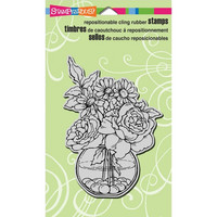 Stampendous leimasin Bowl Bouquet