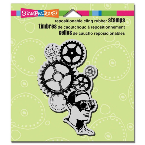 Stampendous leimasin Gear Head