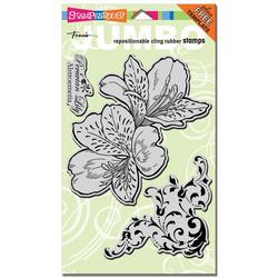 Stampendous leimasimet Jumbo Peruvian Lily