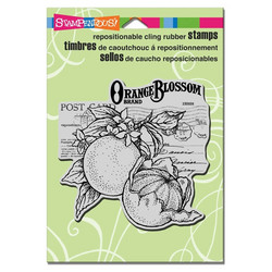 Stampendous leimasin Orange Blossom