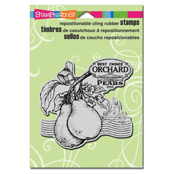 Stampendous leimasin Peal Label