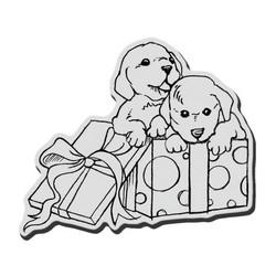 Stampendous leimasin Puppy Pals