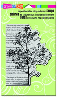 Stampendous leimasin puu Tree Poem
