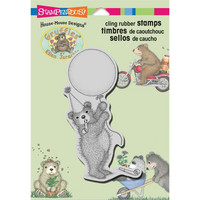 Stampendous leimasin House Mouse Balloon Bear