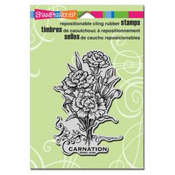 Stampendous leimasin nelikat Carnation