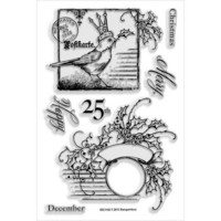 Stampendous kirkkaat leimasimet Holly Bird