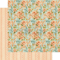 Graphic45 paperi Secret Garden Coming up roses