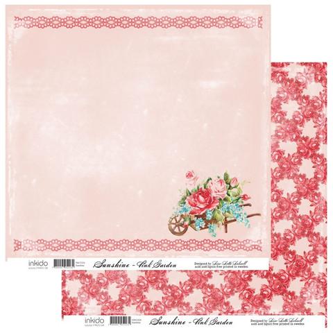 Inkido Sunshine Pink Garden 12x12