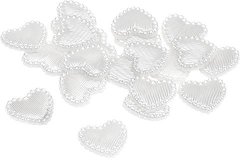 Knorr resiinisydämet 48kpl/12mm valkoinen
