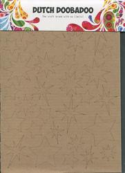 Dutch Doobadoo kartonkikuviot tähdet