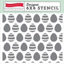 Echo Park sabluuna easter eggs pääsiäismunat 6x6