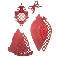Spellbinders stanssit Lattice Ornaments