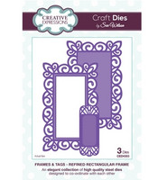 Creative Expressions stanssit Frames & Tags Refined rectangular frame