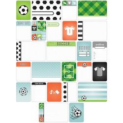 Project Life teemakortit Soccer jalkapallo 40kpl