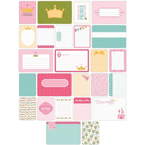 Project Life teemakortit Princess 40kpl