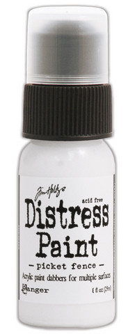 Distress paint maali Picket Fence