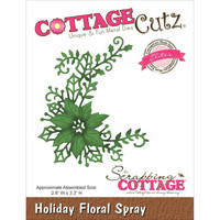 Cottage Cutz stanssi Holiday floral spray