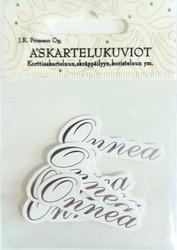 JK Primeco askartelukuviot tekstikyltit Onnea hopea 1765
