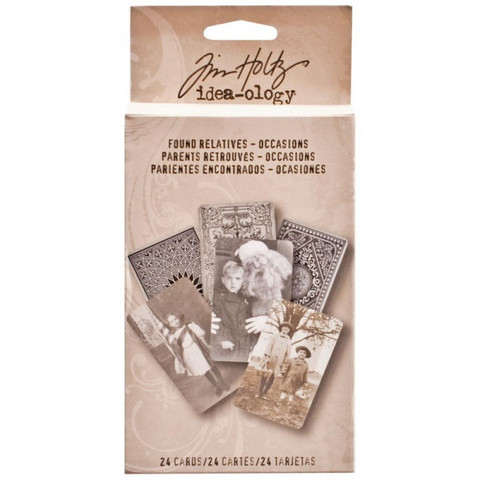 Tim Holtz Found Relatives Occasions 24kpl
