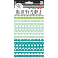 Crate365 The happy planner tarrat 5kpl Dots