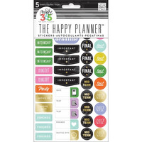 Crate365 The happy planner tarrat 5kpl School - College