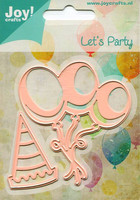 Joy Craft stanssit Let´s party