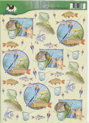 Merel 3d-kuva kalastus